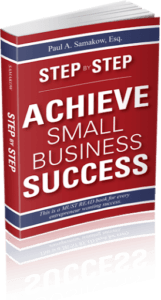 Step by step achieve small business success book